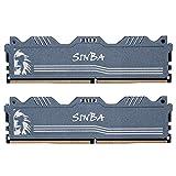 LEVEN SINBA Arbeitsspeicher (16 GB Kit (2 x 8 GB) DDR4 DRAM 3000 MHz (PC4-24000) U-DIMM Gaming...