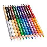 Jolly Superstick Crazy Buntstifte Farbstifte   24 Farben mit 12 Farbstiften   Kinderfest und...