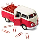 Magnetischer Büroklammerhalter kompatibel mit VW Bus Bulli T1 Transporter Pritschenwagen –...