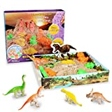 Weeygo Magic Sand Playset, 3D Sand Box mit 500g Super Sand - Knetsand Magischer Natürlichen...