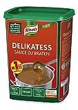 Knorr Delikatess Sauce zu Braten (pur als Bratensoe, Soenbinder und zum Verfeinern), 1er Pack (1 x 1...