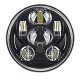 5-3/4 5,75 Zoll 45W LED Scheinwerfer fr Harley Davidson Motorrder Scheinwerfer