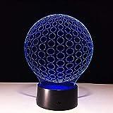Nachtlicht 3D Lampe Usb Led Nachtlichter Trainingsanzug Fußballlampe Touch Nacht Led Lampe...
