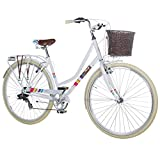 28 Zoll Chill Damenrad Citybike Fahrrad Hollandrad Damenfahrrad 7 Gang, Farbe:Weiss, Rahmengrsse:19...