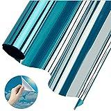 Sichtschutzfolie Fenster, Sonnenschutzfolie Fenster Innen oder Außen   Spiegelfolie Selbstklebend...