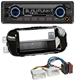 caraudio24 Blaupunkt Denver 212 DAB BT DAB Bluetooth USB MP3 Autoradio für Kia Soul PS ab 14...