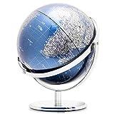 NBVCX Lebensdekoration Desktop World Globe Globe Große Metallkugel 25 mm Durchmesser HD Dual Axis...