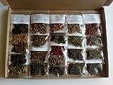 Großes 22x10g Futterstick Premium Natur Paket für Garnelen Welse & andere Wirbellose