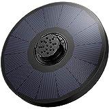 OMORC Solar-Pumpe, Solar-Wasserpumpe, verbesserter Solarbrunnen mit 4 in 1 Dse und 2 Filterschwamm,...