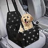 GeeRic Hunde Autositz für Kleine Mittlere Hunde Hochwertiger Auto Hundesitz für kleine bis...