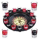 Schramm Trinkspiel Roulette inkl. Geschenkverpackung Party Spiel Saufspiel fr Erwachsene