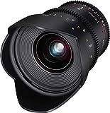 Samyang 20/1,9 Objektiv Video DSLR Nikon F manueller Fokus Videoobjektiv 0,8 Zahnkranz Gear,...