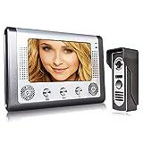 SHUYY Video-Trsprechanlage Trklingel Videogegensprechanlage Intercom Kit wasserdichte Outdoor-Kamera...