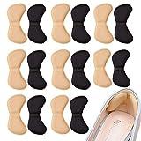 8 Paar Schwamm Fersenpolster, Fußpflege Fersenkissen, Ferse Schuheinlagen, Selbstklebend, Komfort...