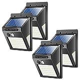 Solarleuchten für Außen, Banral 50LED solarlampen für Außen mit Bewegungsmelder 270° Superhelle...