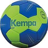 Kempa Unisex Erwachsene LEO Handball, Ball, Grn/Blau, 2