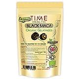 Gelatinierte Schwarze Maca Wurzel – 2000 mg pro Kapsel – Vollwert Äquivalent – Peruianisch...
