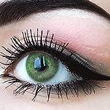 """Sehr stark deckende und natürliche grüne Kontaktlinsen SILIKON COMFORT NEUHEIT farbig """"Jasmine..."""