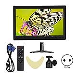 10,1-Zoll-HD-1080P-Breitbild-LCD-Computermonitor mit HDMI/VGA/BNC/AV-Eingang (100-240 V)(EU Plug)