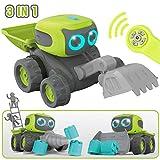 GILOBABY RC Roboter Spielzeug , Elektrisches Ferngesteuertes Autos Spielzeug , Fahrzeuge des Lernens...