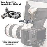 SpiderPro Lens Collar Plate v2 Platte mit Pin für Objektivschelle