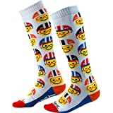 O'Neal Pro MX Emoji Racer Youth Kinder Socken weiß/rot/blau Einheitsgröße 2020 Oneal