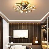LLAN Deckenventilator Mit Licht Fernbedienung LED-Lampe Dimmbar Und Verstellbare...