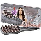 Remington Glättbürste Keratin Protect Ionen 2in1: Glätteisen & Haarbürste für eine reduzierte...