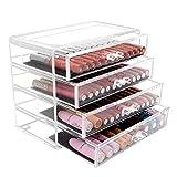 AYCPG Lucar Make-up-Organizer, 4 Etagen, für Make-up, Schmuck, Kosmetik, Make-up, Organizer,...