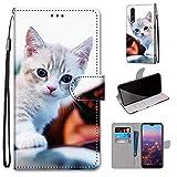 Miagon Flip PU Leder Schutzhülle für Huawei P20 Pro,Bunt Muster Hülle Brieftasche Case Cover...