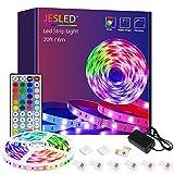 LED Strip , JESLED 6m (1x6m) LED Streifen Band, RGB SMD 5050 LED stripes Selbstklebend, Farbwechsel...