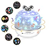 Sternenhimmel Projektor Kinder, CoPedvic 3 in 1 Bluetooth Lautsprecher LED Musik Nachtlicht...