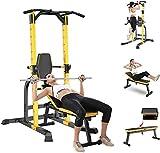 Byakns Home oder kommerzielle Beinfitnessgeräte Indoor Bank Press Set, Gewichtsbank Set mit...