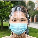 Lumiereholic Gesichtsschutzschirm Augenschutz Vollgesichtsschutz Visier Anti-Öl Splash klar...