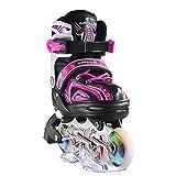 Apollo Super Blades X Pro, LED Inline-Skates, Rollerblades für Kinder, ideal für Anfänger,...