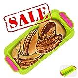KeepingcooX® Backen/Dose, 6,3 cm Tief Brot Kastenform Silikon Antihaft Backblech Rechteck Kuchen...