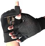 Licht Saber DUN Griffige Half Finger Radfahren Handschuhe Tiere Übung Handschuhe für Gym...