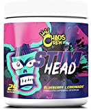 Chaos Crew Stim Head Hardcore PreWorkout Booster Trainingsbooster Bodybuilding 207g (BlueBerry...