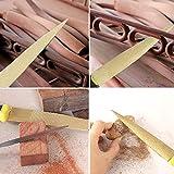 Rutschfeste Holzraspel Goldfeile zum Polieren von rauen Holzprodukten(Gold file 6 inch + packaging...