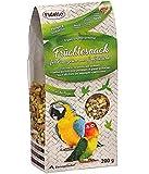 Fidelio Ziervogel-Snack, Früchtesnack für Papageien und Großsittiche, 200 g