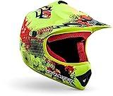 "armor HELMETS® AKC-49 ""Limited Yellow"" · Kinder Cross-Helm · Motorrad-Helm MX Cross-Helm MTB..."