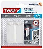 tesa Klebenagel für Tapeten und Putz 1kg - Selbstklebende Nägel für empfindliche Oberflächen -...