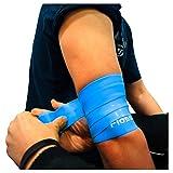 Flossband, einzeln, Standardbreite 5cm, in 4 verschiedene Strken - Level 2 - blaubeere - mittel -...
