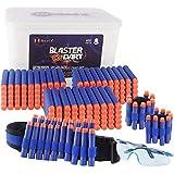 NextX Pfeile Darts 400 Stück für Nerf Zubehör 7.2cm Pfeile 400 Stück Armband 2 Stück...