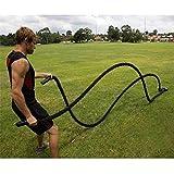 Battle RopeKampfseil Training SeilSport Seil Gym und Muskelaufbau Funktionellen Swinging Rope etc....