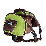 Ramoni Hunderucksack, leichtes Hundegeschirr, Wanderausrüstung mit Seitentaschen für Hunde