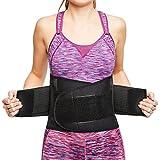 sit right Rückenbandage - Stabilisierungsgurt aus Thermomaterial mit zweifach verstellbaren...
