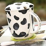 Ldhome Espresso- & Mokkatassen Reisebecher Kreative Keramikpaar Kaffeetasse weiß