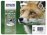 Epson Original T1285 Tinte Fuchs, S22 SX125 SX420W BX305F BX305FW SX130 SX440W BX305FW SX435 SX235W,...