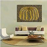Wmszpy Hotsell Kürbis Yayoi Kusama Ölgemälde, Wandgemälde, für Innenbereich, Dekoration, Stoff,...